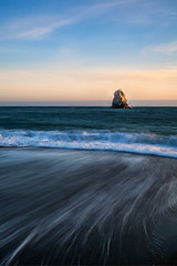 Sneaky Waves (Travis Rhoads) Tags: 2018 sonyilce7rm2a7rii sonydistagont35mmf14za reallyrightstuff ba72l bh55 rrspcl01 tvc33 formatthitechfirecrest4stopnd leefoundationkit coastal beach blacksandbeach landscapephotography longexposure nikcollectionbygoogle ocean waves sunset thegoldenhour copyright2018 travisrhoadsphotography water california jenner russianriverstatemarineconservationarea jennerbeach