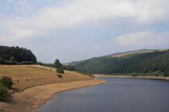 Ladybower Reservoir & Ashopton  August 2018 (dave_attrill) Tags: ladybower reservoir derwent lowwater august 2018 peakdistrict derbyshire bamford ashopton