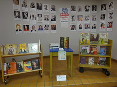 Women's equality day alcove display