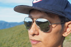 P8041489 (Sin Jhong) Tags: 嘉明湖 向陽名樹 向陽山 嘉明湖避難小屋 向陽山屋 三叉山 百岳 日出 銀河 olympus penf 向陽國家森林遊樂區