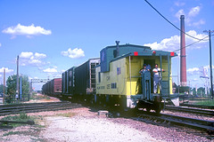 C&NW Caboose 12557 (Chuck Zeiler) Tags: cnw caboose 12557 railroad chicago train chuckzeiler chz