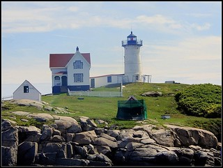 Nubble Light - Photo Taken by STEVEN CHATEAUNEUF On August 8, 2018 - Some Editing Was Done On August 12, 2018