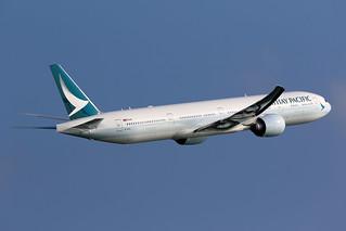 B-KPL, Cathay Pacific, Boeing 777-300ER, Hong Kong