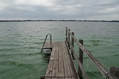 Green Water Bad Zwischenahn (fynnspeckmann1) Tags: sonntag sunday clouds wolken steg see wasser sailing segeln green grün mood joy beautiful summer sommer germany deutschland north blaualge