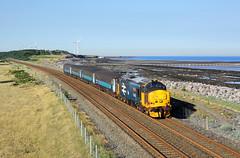 37402 Siddick 29/6/18 (Ram 69) Tags: 37402 2c35 cumbriancoastnorthernraillocohauled drs direst rail servicesseaseasideirish sea coast coastline