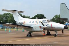 77 | Embraer EMB121AN Xingu | Aeronavale 24F (james.ronayne) Tags: 77 embraer emb121an xingu aeronavale 24f aeroplane airplane plane aircraft riat raf fairford egva ffd canon 80d 24105mm raw airshow air show display