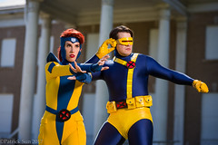SP_61036 (Patcave) Tags: xmen jeangrey jean grey scottsummers scott summers phoenix cyclops comic book comicbook movie tv superheroes superhero superheroine 2017 atlanta georgia cosplay shoot model cosplayers costume costumers sigma 85mm f14 canon 5d3 1740mm f4 lens