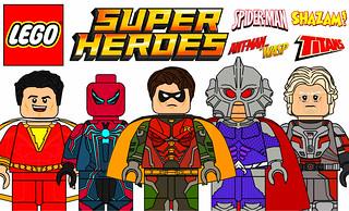 Amazing Custom Lego Superheroes Minifigures !!!