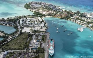 Montego Bay in Jamaica Aerial Photo