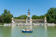 AFS-2011-06591 (Alex Segre) Tags: elretiro madrid retiropark boating lake rowboat rowboats row boat rowing boats estanque capital city cities bluesky sunny sunshine summer scene scenes scenic young people adults women leisure activity activities pond ponds parks lakes parquedelbuenretiro park spain europe spanish european travel in a alexsegre