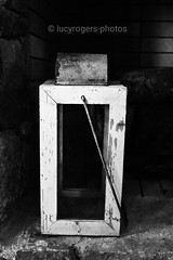 Lantern (lucyrogersphotography) Tags: lantern lamp light candle greece outside villa blackandwhite bw monochrome lucyrogersphotos fireplace fire contrast
