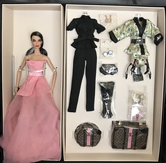 Fame and Fortune Vanessa (Minimodel) Tags: fame fortune vanessa 2018 w club exclusive gift set fashion royalty integrity toys