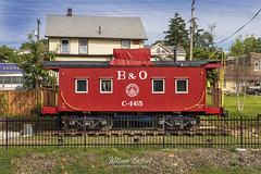 B&O-Caboose C-465 @ Boonton NJ (bozartproductions) Tags: bo railroad 1904 boonton nj new jersey