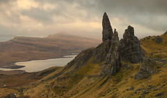 The Old Man of Storr (Andy Watson1) Tags: oldmanofstorr storr old man isle skye isleofskye scotland scottish hebrides united kingdom great britain landscape view scenery photography canon70d landscapephotography travel nature clouds loch leathan april spring