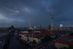 The last Lightnings (Light Levels Photoworks) Tags: architecture architektur allemagne adventure atmosphere alexanderplatz berlin berliner city cityscape clouds citylights church d750 deutschland dämmerung dusk dust dom europe europa earth eglise eclair exposure lightning fernsehturm germany gewitter hdr landscape landschaft light lights licht lzb lichter moment mitte nikon nikkor outdoor orage perspectives paysage photography perspektive panorama river rathaus rotes stadt street time travel twillight tower tv turm thunderstorm thunder traffic urban ufer view voyage viewpoints ville world wolken wetter wideangle weather