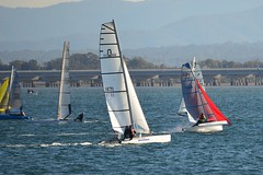 800_4828 (Lox Pix) Tags: queensland qld australia catamaran trimaran hyc humpybongyachtclub winterbash loxpix foilingcatamaran foiling bramblebay sailing race regatta woodypoint boat