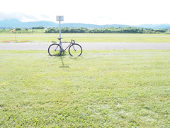 P7220037 (uki_cafe) Tags: japan hokkaido olympus omd em10markⅱ fuji feather trackbike fixedgear fixedbike bicycle nature landscape