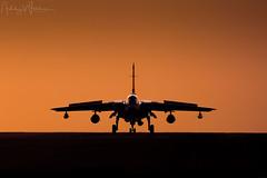 RAF Tornado GR4 ZG775/134 31 Sqn -  RAF Marham, UK (Ashley Wallace Photography) Tags: aircraft sunset orange cold january winter d7100 nikon flickr photography bomber fighterjet aviation raf100 uk unitedkingdom kingslynn royalairforce raf rafmarham 31sqn tornado gr4