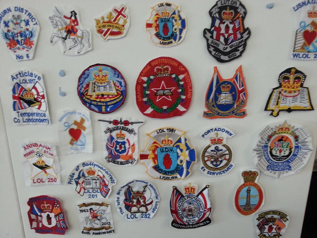 Hobby Craft Sew On Badges