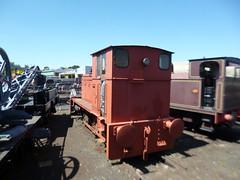 "Preserved Barclay 376 ""Princess Margaret"" 30062018b (Rossendalian2013) Tags: preserved dieselmechanicallocomotive 040 4wdm princessmargaret andrewbarclay 376 tyseley"