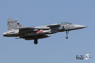 39311 (40) Hungarian Air Force Saab JAS-39C Gripen
