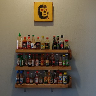#breakfast #condiments #hotsauce #shelfie #shelves #restaurant #wallawalla