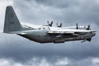 84008 Lockheed Tp84 Hercules (C-130H/L-382) Swedish Air Force