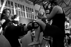 "Fight Club_DSC1708 (jonwaz) Tags: brighton sussex england europe black blanco y negro bw monochrome blackandwhite street cinematic jonwaz ""sony dscrx100m3"" attitude candid people fight gym"