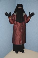 Warm Clothed (Warm Clothes Fetish) Tags: maid salve sweat torture hijab niqab apron coat fur boots winter warm hot girl