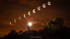 Eclipse de Luna (www.jorgelazaro.es) Tags: lleida night nocturna paisaje eclipse cataluña naturaleza luces llena luna españa noche
