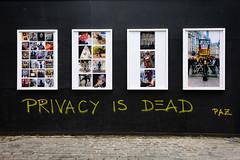 Privacy Is Dead (RoyReed) Tags: london spitalfields graffiti england unitedkingdom gb