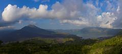 Panorama of the caldera Gunung Batur. Панорама древней кальдеры Гунунг Батур. (atardecer2018) Tags: бали пейзаж вулкан вечер батур bali paisaje landscape cielo sky clouds volcano batur