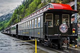 White Pass & Yukon Route Scenic Railway.