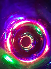 Holey Lights (J S R2011) Tags: experiment lights gel abstract