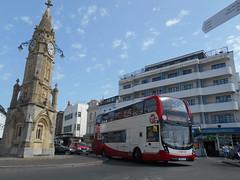 Stagecoach South West 15312 (Welsh Bus 18) Tags: stagecoach southwest scania n250ud adl enviro400mmc 15312 yn67yjv torquay strand h4529f hop12