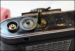 Certo Dollina II Repair Notes (22) (Hans Kerensky) Tags: certo dollina ii rangefinder folder repair removed focus axle big ring
