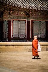 Buddist monastery (alexhaeusler) Tags: street korea temple monastery buddist people