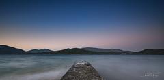 Geras bay at night. (PvRFotografie) Tags: greece griekenland lesbos lesvos nature natuur natural longexposure nd water sea bay gerasbay panorama sonyilca99m2 sigma1224mmf4556dgiihsm sigma1224mm sigma12244556 12mm 1224mm leesw150 lee09softgrad