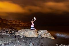 Olé!!!!! (josmanmelilla) Tags: modelos nocturna mar playas melilla españa pwmelilla flickphotowalk pwdmelilla pwdemelilla