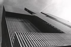 Lightened Tetris (frank_w_aus_l) Tags: monochrome rotterdam derotterdam skyscraper hochhaus city sky sunlight matte fuji fujifilm x100t noiretblanc netb netherlands holland clouds light zuidholland niederlande nl