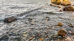 Water Logged (Alan Charles) Tags: ct connecticutshore hammonassetbeachstatepark hammonassetstateparkmeigspoint meigspoint seascape beach ocean rockyshoreshore sea shore