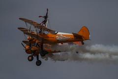 Wingwalkers (Hawkeye2011) Tags: aircraft aviation airshow uk 2018 farnborough wingwalkers boeing stearman biplane flyingcircus