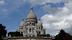 PARIS (pwitterholt) Tags: parijs frankrijk france basiliek sony sonycybershot sonyhx400 clouds wolken imposant basilica sacrécoeur paris