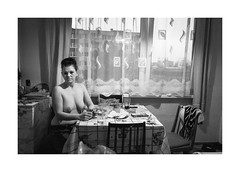 Heatwave (Jan Dobrovsky) Tags: leicaq document poverty indoor meetoo social monochrome woman reallife blackandwhite northernbohemia humanity antonínkratochvíl tribute metoo 400asa