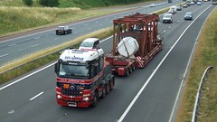 X222 GCS (panmanstan) Tags: mercedes arocs wagon truck lorry commercial heavy haulage freight transport vehicle stgo m6 motorway cumbria