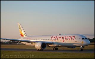 ET-AUO Boeing 787-9 Ethiopian Airlines