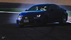 Lexus (m i n i t e k) Tags: lexus rc f sportscar drift slide smoke road circuit gran turismo sport car v8