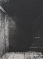 Odilon Redon - Je vis une lueur large et pâle (1896) (Elisa1880) Tags: je vis une lueur large et pâle ik zag een breed en bleek schijnsel i saw broad faint glimmer lithograph litho odilon redon kröllermüller museum otterlo art kunst tentoonstelling exhibition la littérature musique
