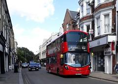 Go-Ahead London General WHV81 BD65EVN | 432 to Brixton (Unorm001) Tags: bd65 evn bd65evn whv81 432 81 whv red london double deck decks decker deckers buses bus routes route diesel hybrid electric dieselelectric battery batteryelectric hybridelectric