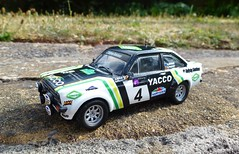 1/43 Ford Escort Mk2 rally (thebigmacmoomin) Tags: 143 scale diecast custom modified code3 rally wrc mcrae alistairmcrae ford escort mk2 rs